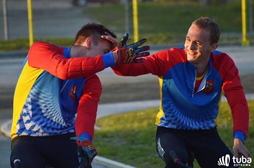 Bartek Grabowski (right) and