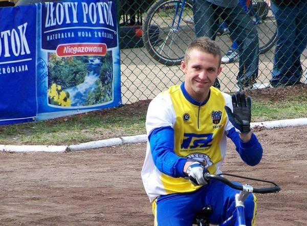 Current champion, Marcin Paradzinski.