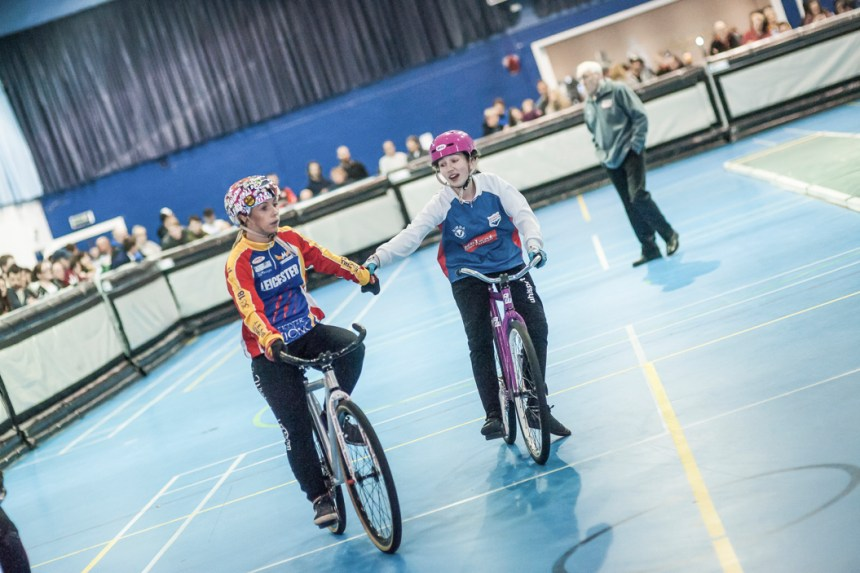 Lucy Whitehead (left) was back to her best. Photo by Dave Perry.