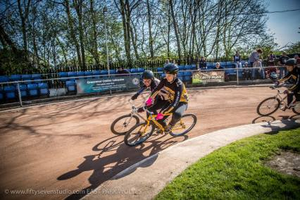 Coventry's Ben Wells (right) won the U14s. Photos by Greg at East Park.
