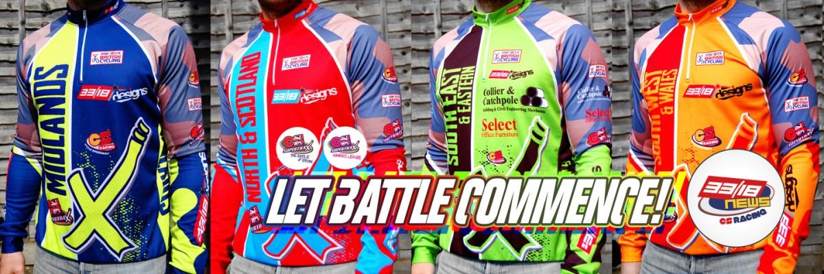 SUPERTRAX: Excitement builds as new race jerseys arrive