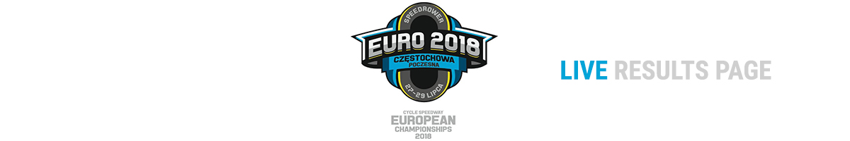 2018 EUROPEAN CHAMPIONSHIPS: Follow the results LIVE!