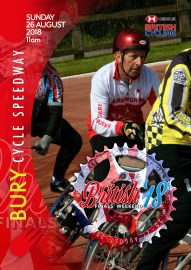 Bury Programme Cover Finals Weekend 2018