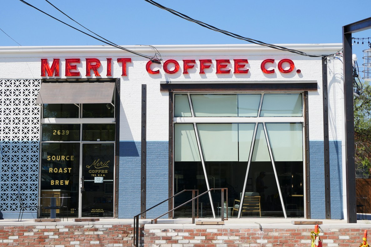 merit coffee deep ellum dallas texas