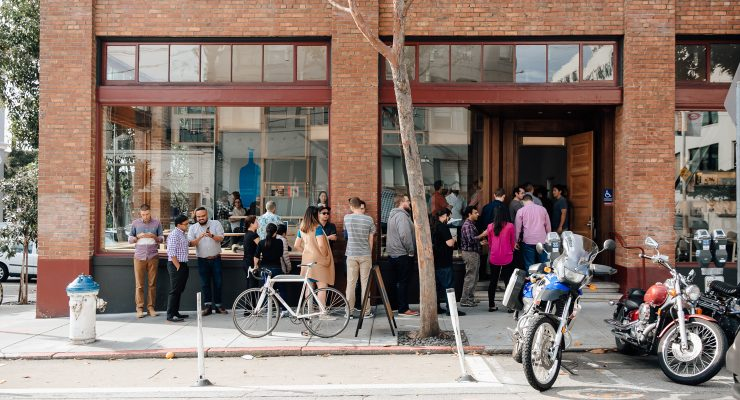 San Francisco: Blue Bottle Coffee Stands Out In South Park