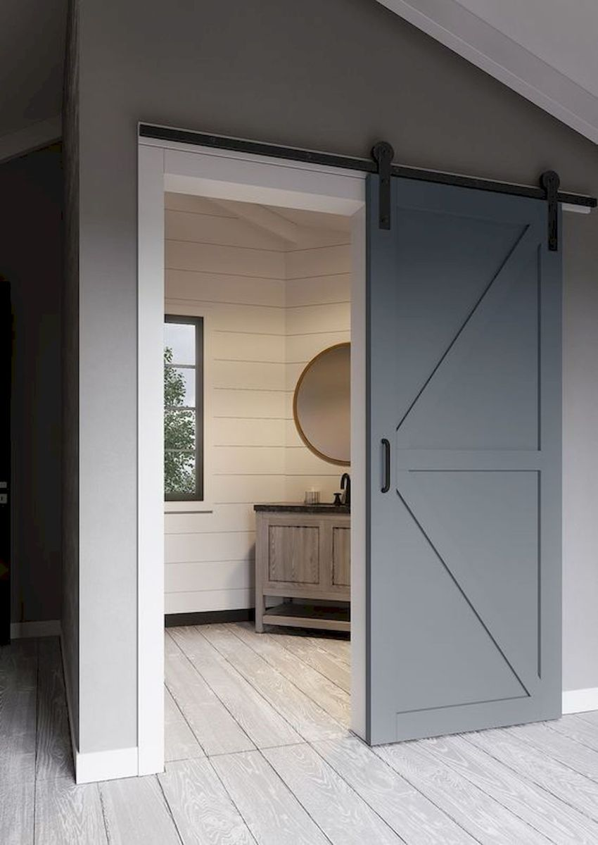 33 Fantastic Barn Door Design Ideas (27)