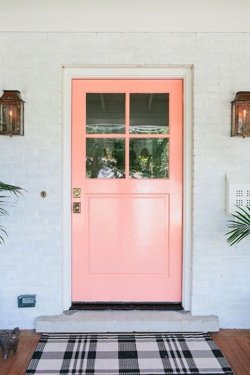 33 Magical Front Door Colors Design Ideas (10)