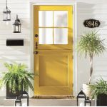 33 Magical Front Door Colors Design Ideas (11)