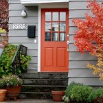 33 Magical Front Door Colors Design Ideas (23)