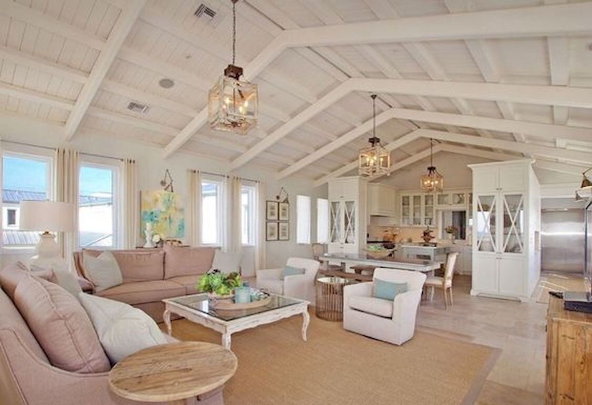 33 Stunning Farmhouse Living Room Lamps Design Ideas And Decor (19)