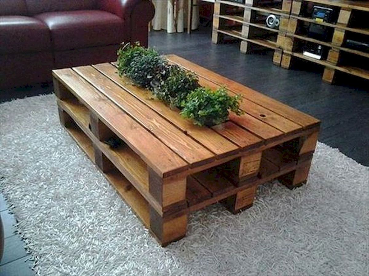 33 Ideas For Mini Pallet Coffee Table (26)