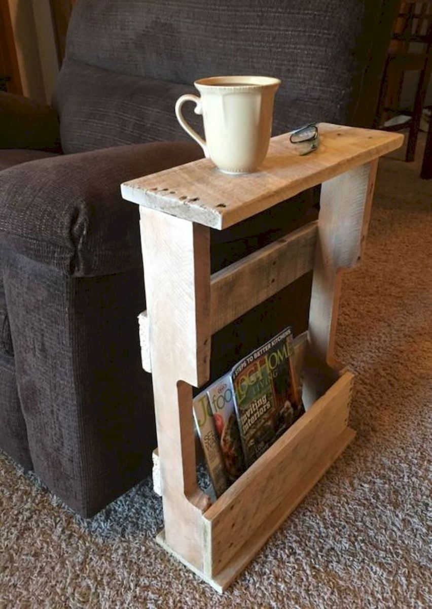 33 Ideas For Mini Pallet Coffee Table (34)