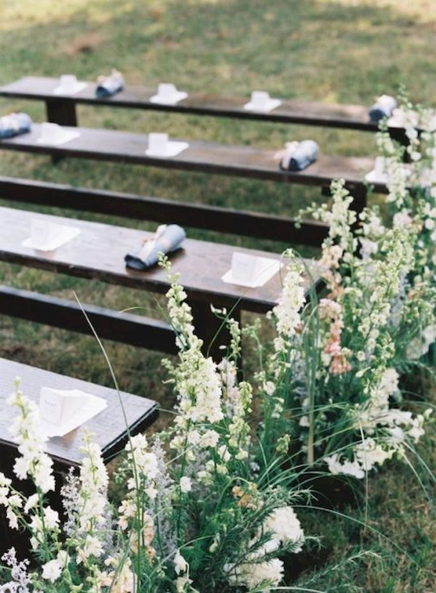 33 Ideas For Outdoor Spring Wedding (36)