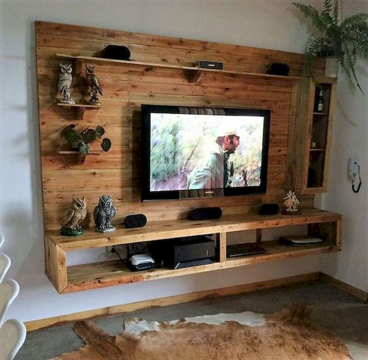 33 Ideas For Pallet TV Stand (29)