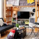 33 Ideas For Small Apartment Bedroom College (1)