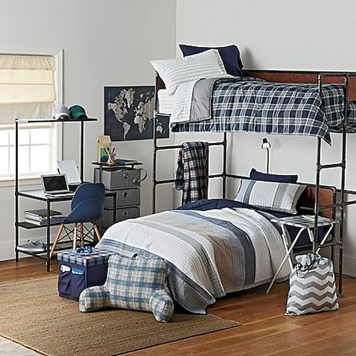 33 Ideas For Small Apartment Bedroom College (17)