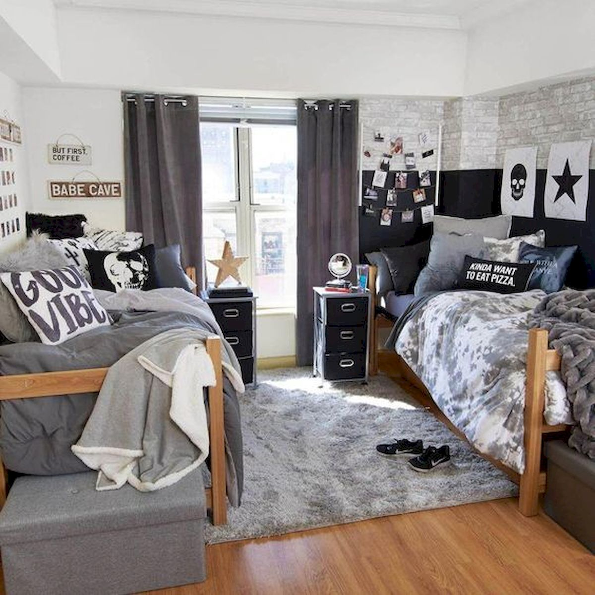 33 Ideas For Small Apartment Bedroom College (18)