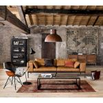 33 Best Industrial Living Room Ideas (19)