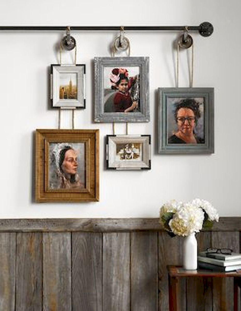 Best 33 DIY Wall Decor Built with Industrial Design (25)