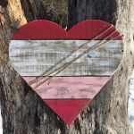 33 Best DIY Wood Hearts Ideas (16)
