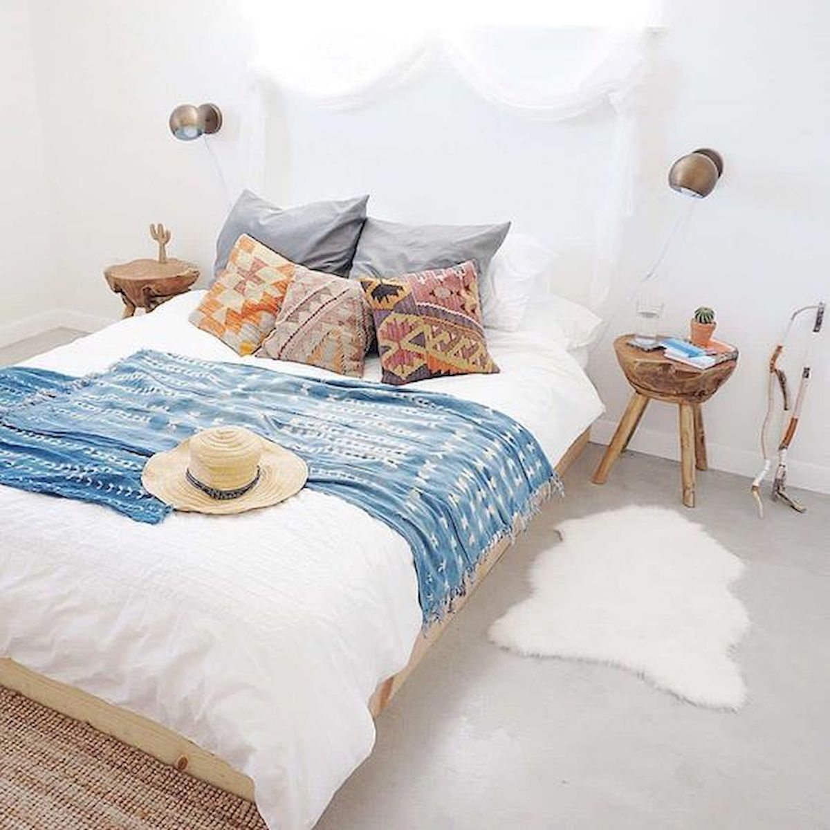 33 Amazing Boho Chic Bedroom Decor Ideas (9)