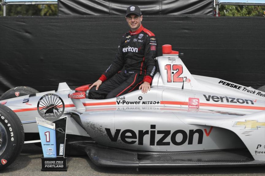 Will Power wins at Portland