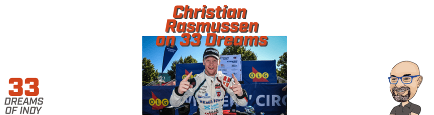 Christian Rasmussen - 33 Dreams of Indy