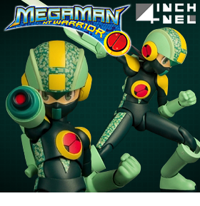 MEGA MAN NT WARRIOR 4INCH-NEL FIGURE