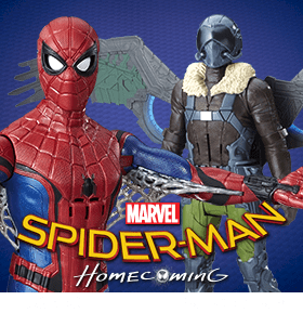SPIDER-MAN: HOMECOMING FIGURES AND ACCESSORIES
