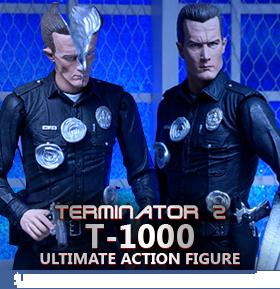 NECA ULTIMATE FIGURES - FREDDY & T-1000