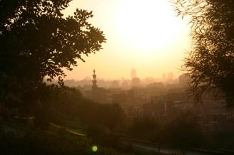 Sunset sur Le Caire