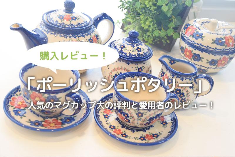 【ポーリッシュポタリー】人気のマグカップ大の評判と愛用者のレビュー!