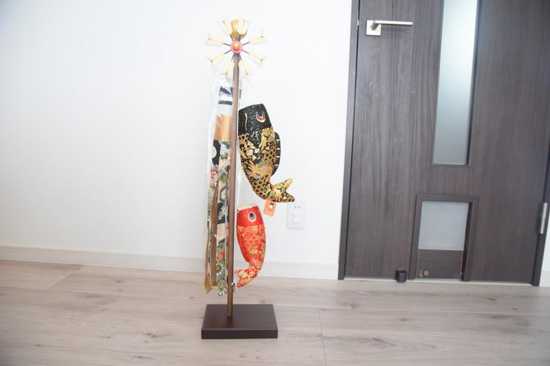 鯉のぼりを室内に飾ろう!狭いお家におすすめのこいのぼり。