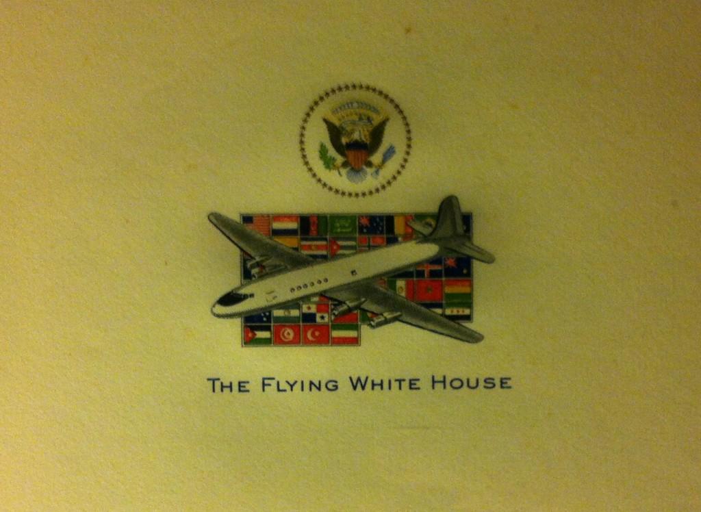 The Flying White House Letterhead