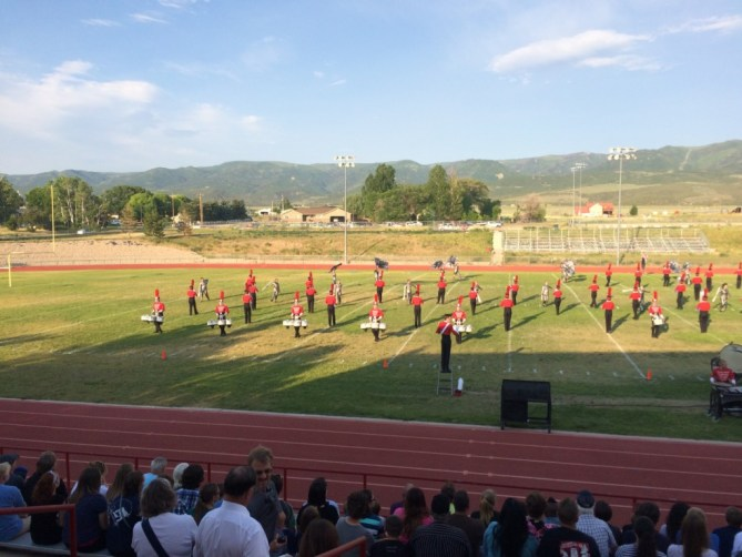 The Battalion and Madison Scouts Exhibition - June 21, 2016 - The Battalion on the field