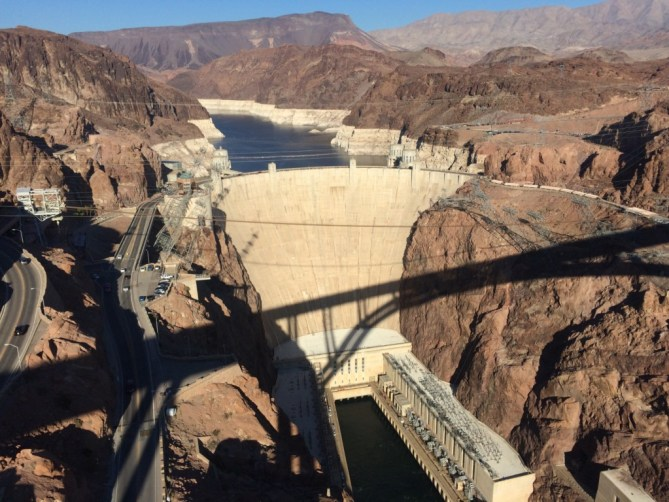 First time walking the new Hoover Dam bridge