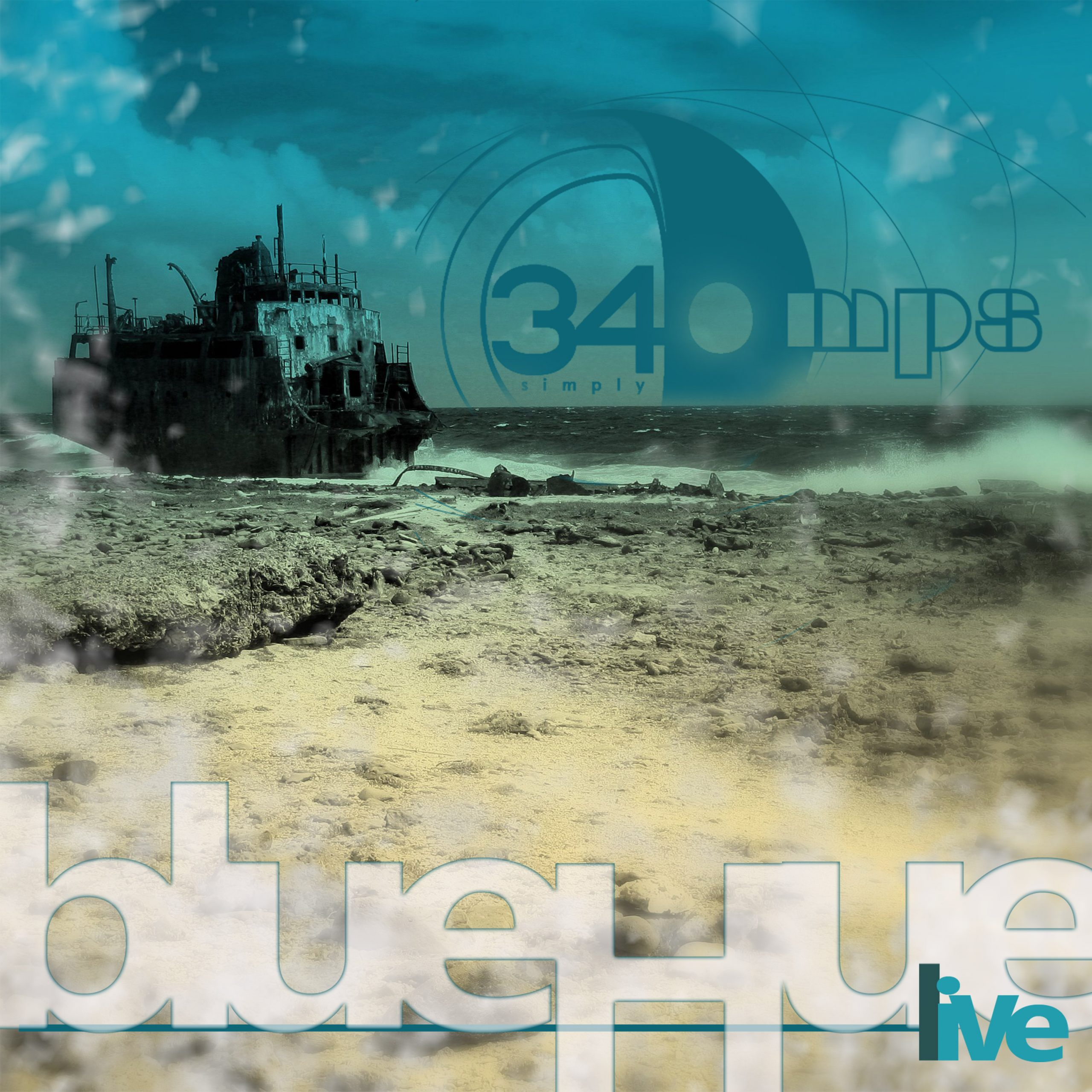 340MPS - blueHue - cover
