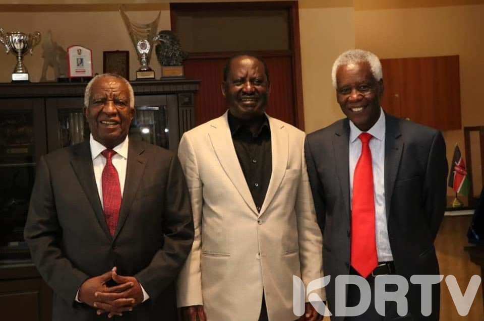 Central Kenya Leaders with Raila