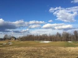 View of Stonebridge Golf Course from backyard patio