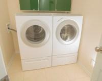 Miele washer & dryer on main floor