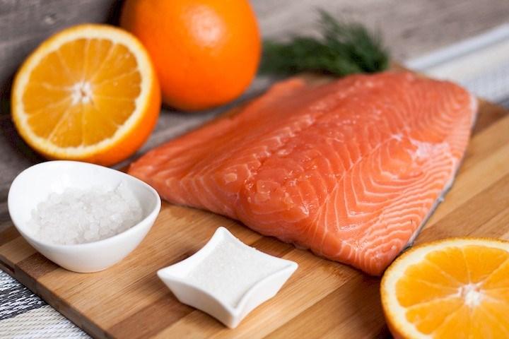 Использование апельсинов в засолке рыбы