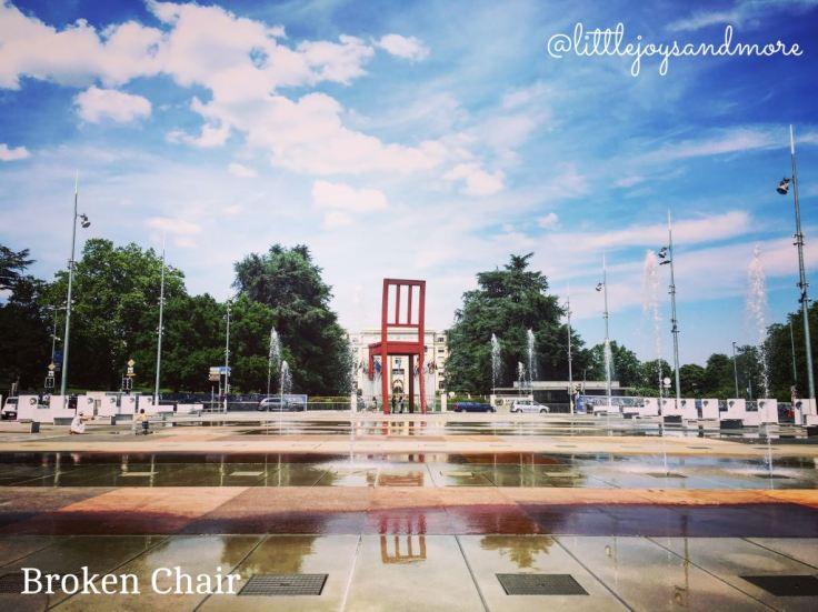 Broken Chair, United Nations Geneva