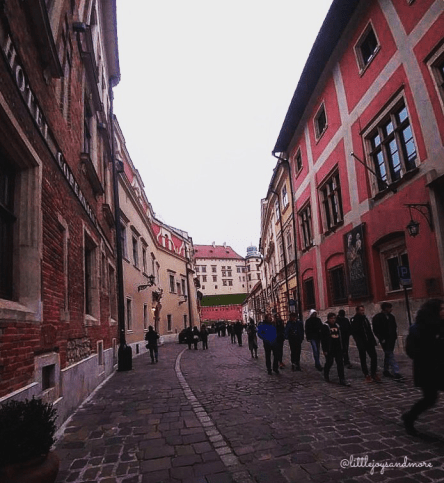3 days in Krakow: The streets