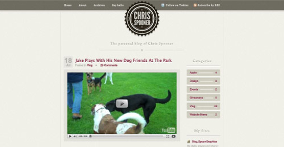 Creating a Stylish Blog Design Layout in Photoshop