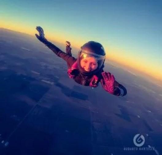 skydiving, smile, beautiful girl, pretty girl, girl skydiver, skydiving girl, California girl