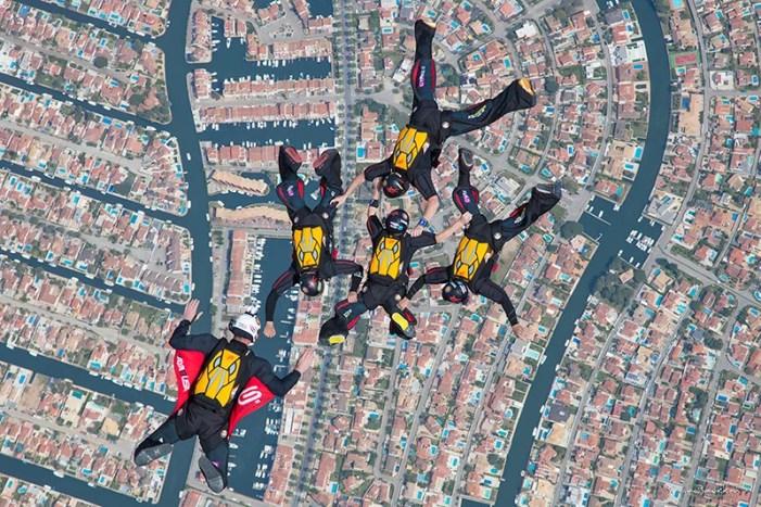 Formation Skydiving, Haybasua Team, Empuriabrava, Spain, Training skydive
