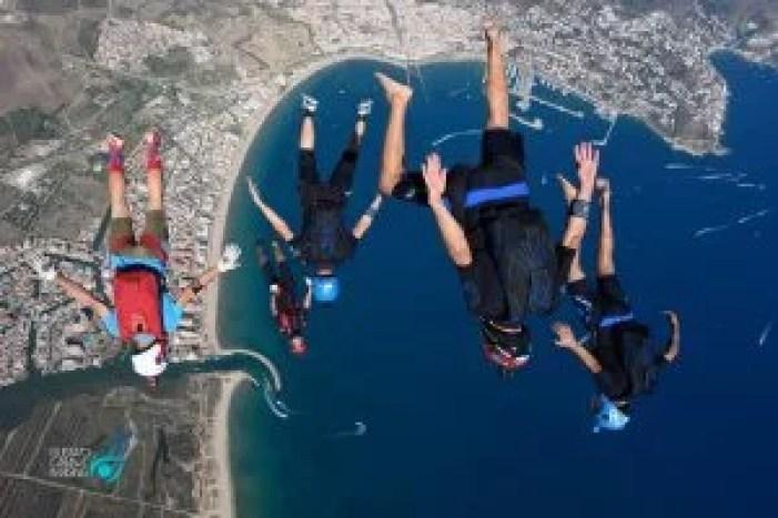 Nyka Jump with fly warriors