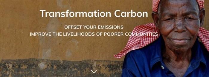 flyer transformation carbon foundation help poor people