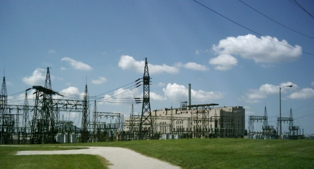 Riverside Generating Station - Built in 1942 to handle growing electricity needs during summer because of high A/C usage.