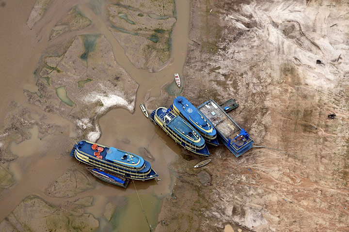 Droughts in Brazil. Photo credit: Raimundo Valentim/EPA